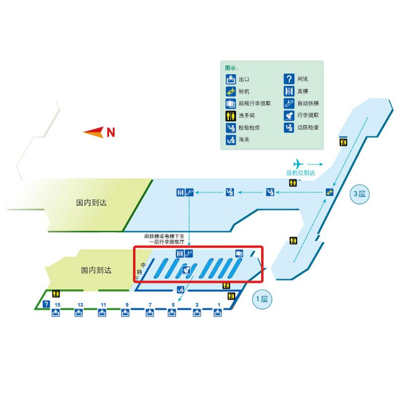 首都机场坐飞机流程